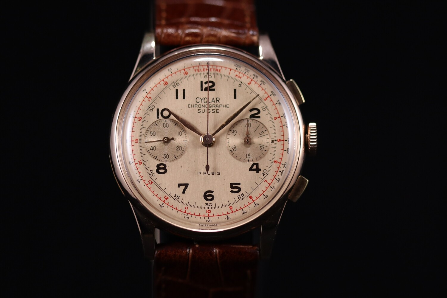 Chronograph Cyclar Rose Gold 18CT