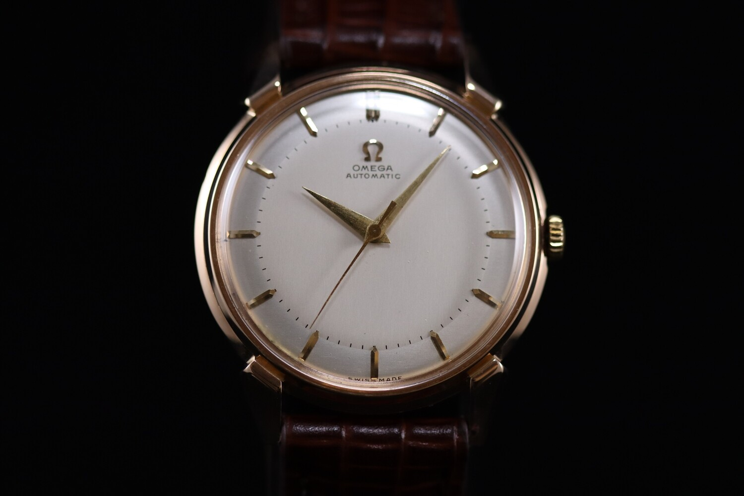 Omega Automatic Rose Gold 18ct