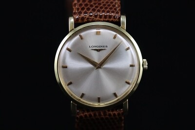 Classic Longines Gold Plated