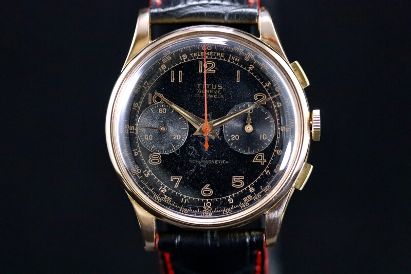 Chronograph Titus Rose Gold 18ct