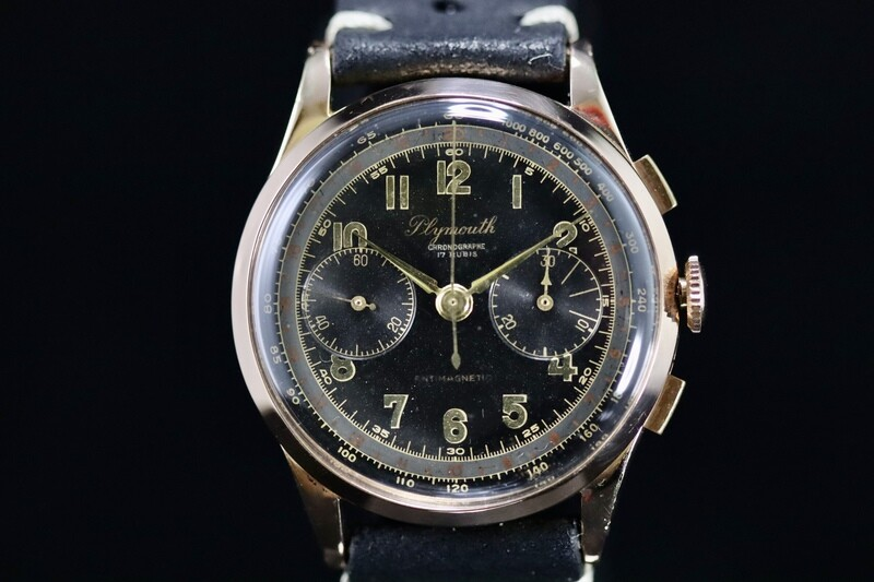 Chronograph Plymouth Rose Gold 18ct