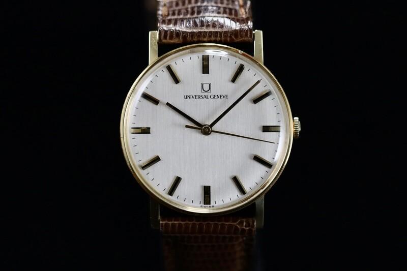 Universal Genève Gold 18ct