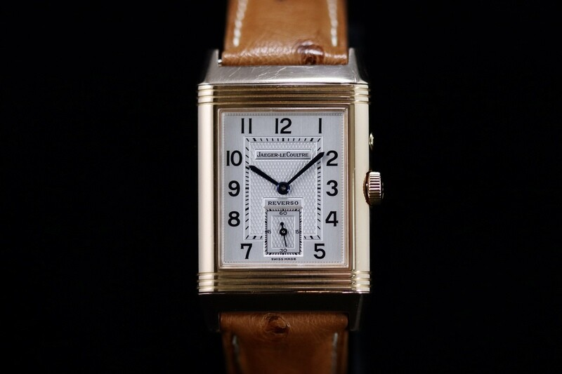 Jaeger LeCoultre Reverso DuoFace Day Night Rose Gold 18ct Full Set