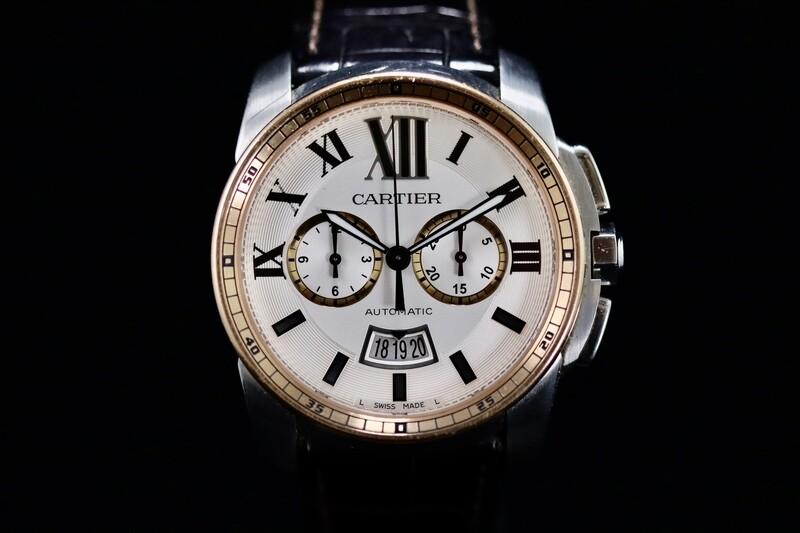 Cartier Calibre de Cartier Chronograph Full Set