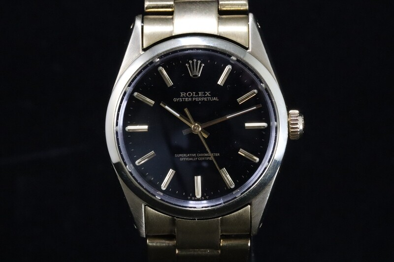 Rolex Oyster Perpetual Gold/Steel 1024