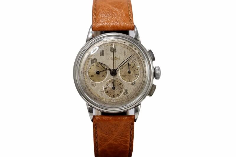 Chronograph Lemania 8597