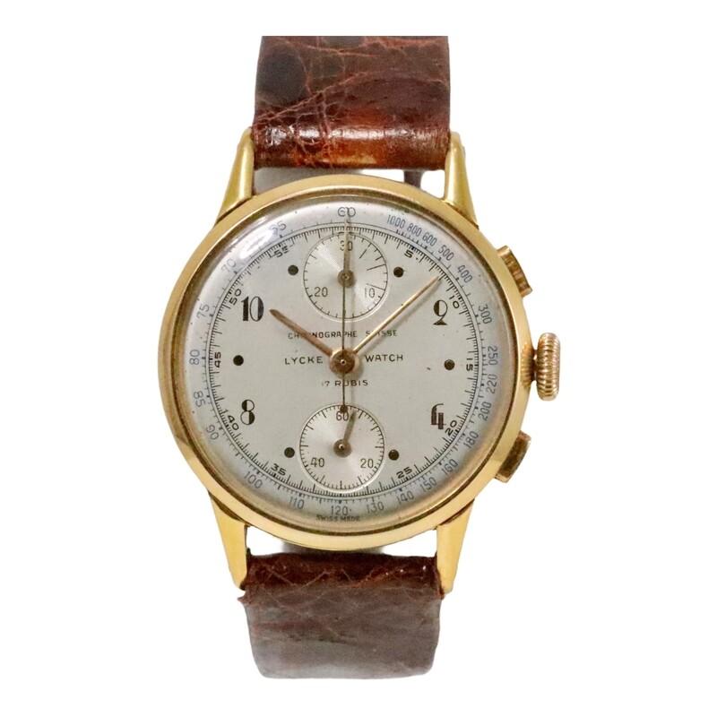 Chronograph Licke Watch