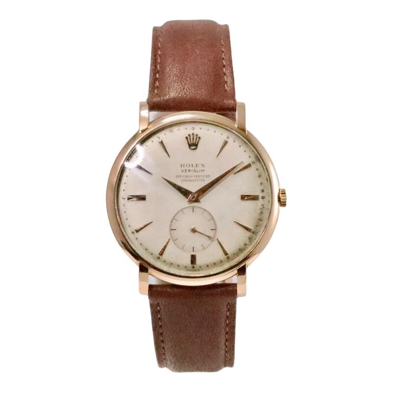 Rare Rolex Verislim Rose Gold 9082