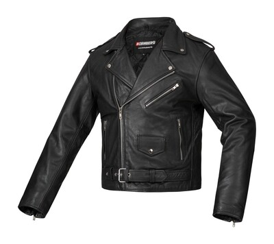 """THE CLASSIC"" Bohmberg Biker Jacket made of Cowhide"