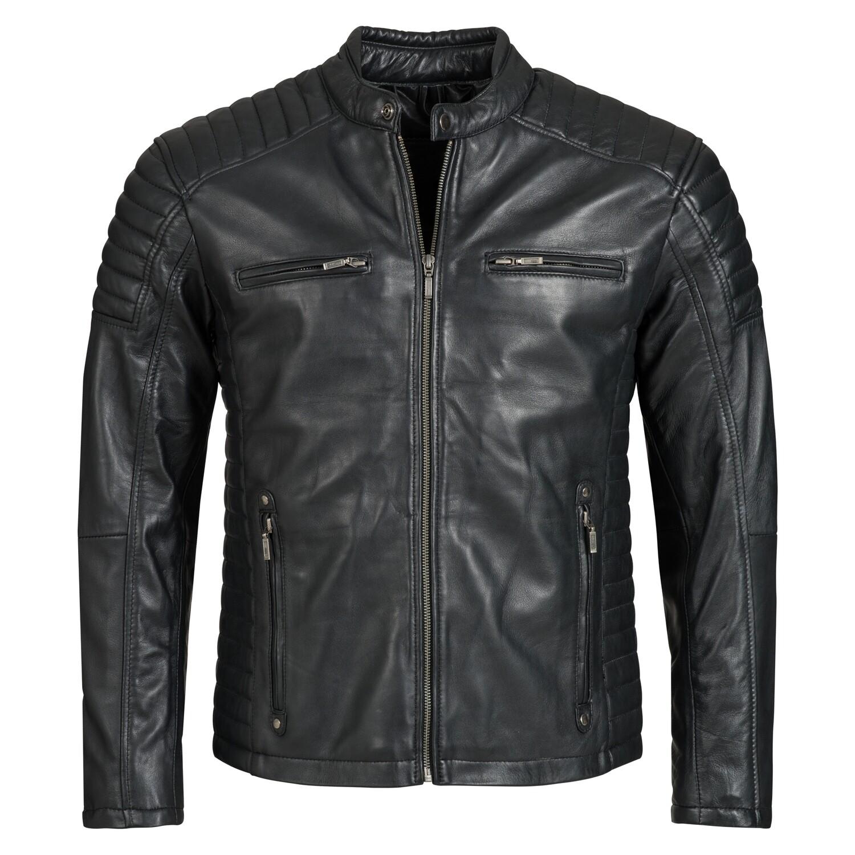 Bohmberg Men's Leather Jacket VIRTUS made of soft, Premium Quality Sheep Leather