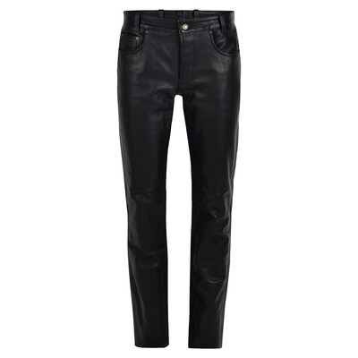 Bohmberg® Premium Men's Leather Jeans ALLROUNDER made of Cowhide