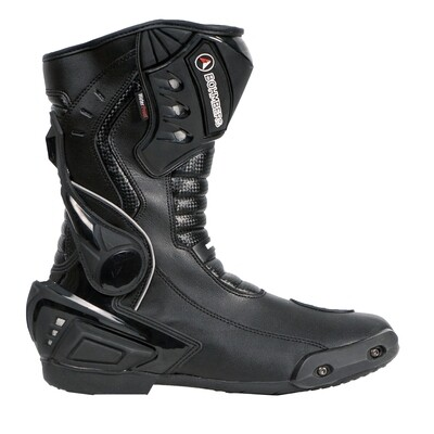 Bohmberg® VIKING Motorcycle Boots with attached Hard Shell Protectors
