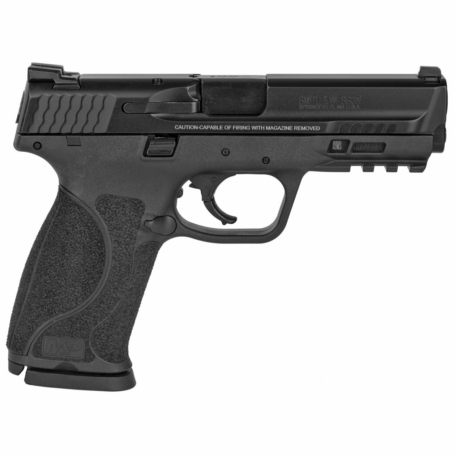SMITH AND WESSON MP 2.0  9MM FXD SIGHTS TS