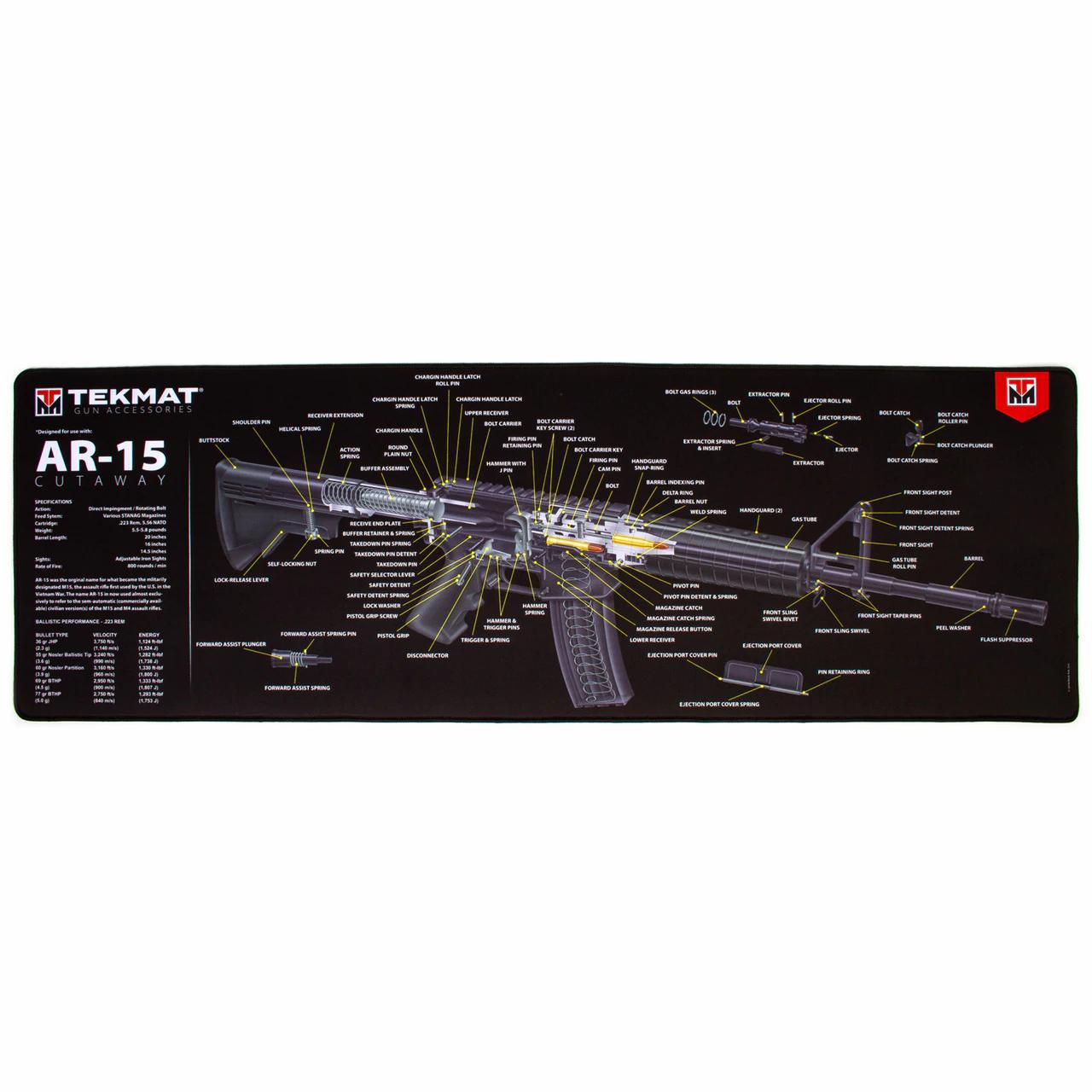 AR 15 GUN CLEANING MAT