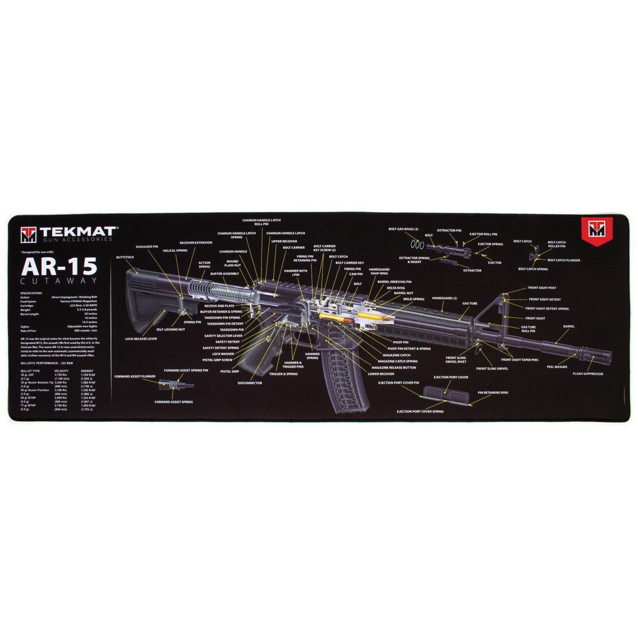 ULTRA 44 AR15 GUN CLEANING MAT