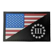 CONDOR US FLAG/3 PERCENTER PVC