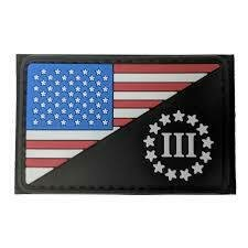CONDOR US FLAG/3 PERCENTER PVC