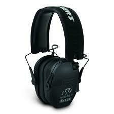 WALKER'S RAZOR ELECTRONIC EARMUFF BLACK