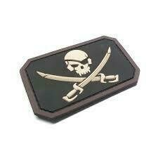 MSM PIRATE FLAG PATCH