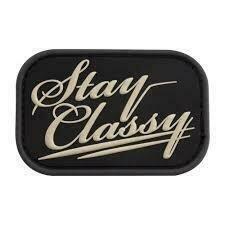 MSM STAY CLASSY PVC PATCH