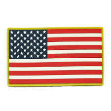 EMBROIDERED AMERICAN FLAG