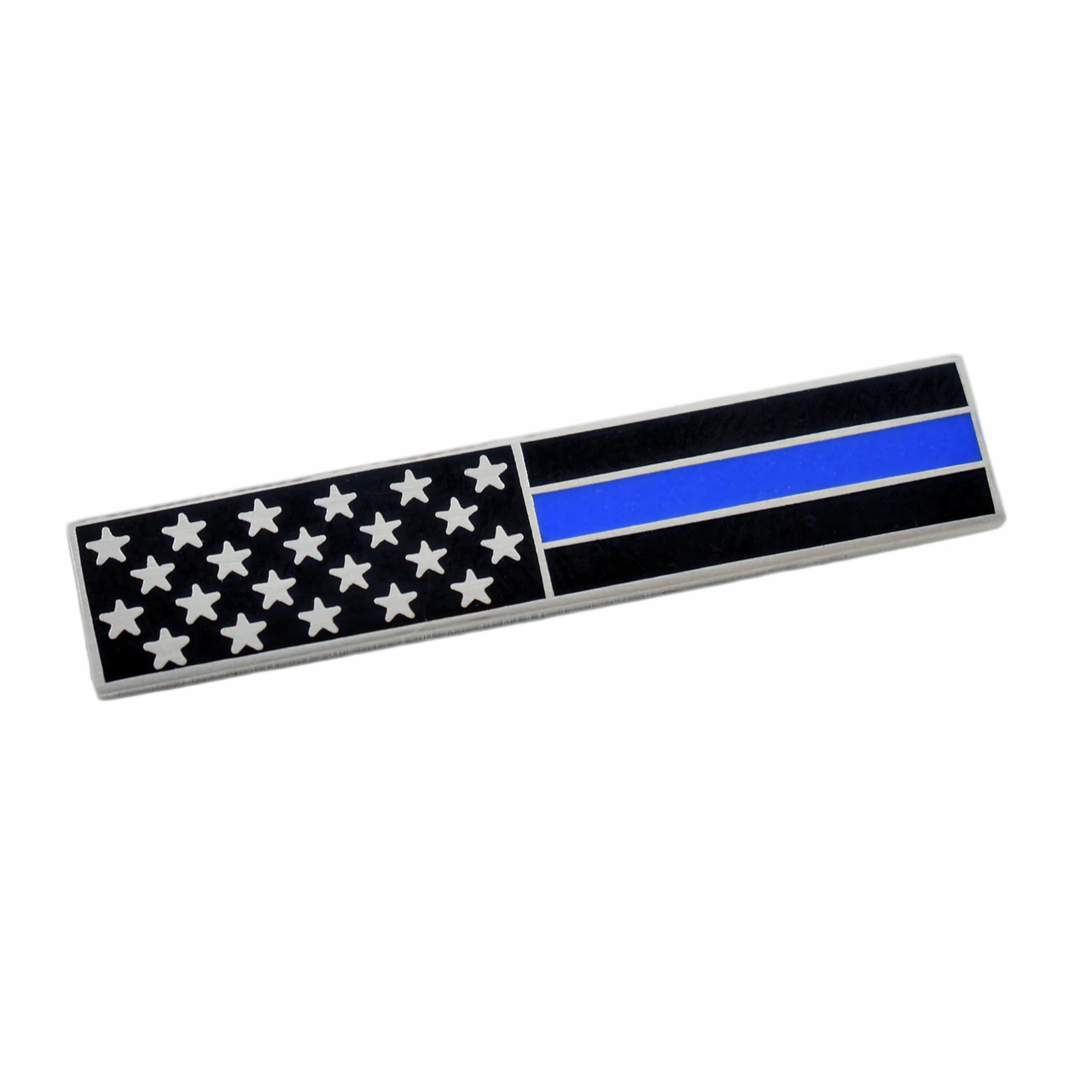THIN BLUE LINE MOURNING BAR