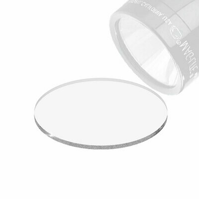 CLEAR LENS FOR MAG LIGHT GLASS