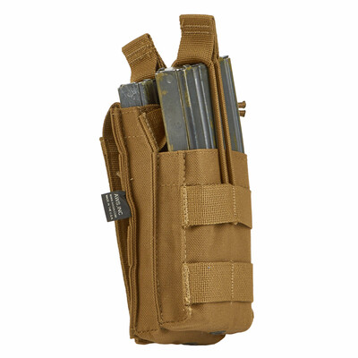 SINGLE STACKER M4 MAG POUCH FDE