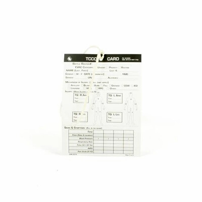 CASUALITY CARD