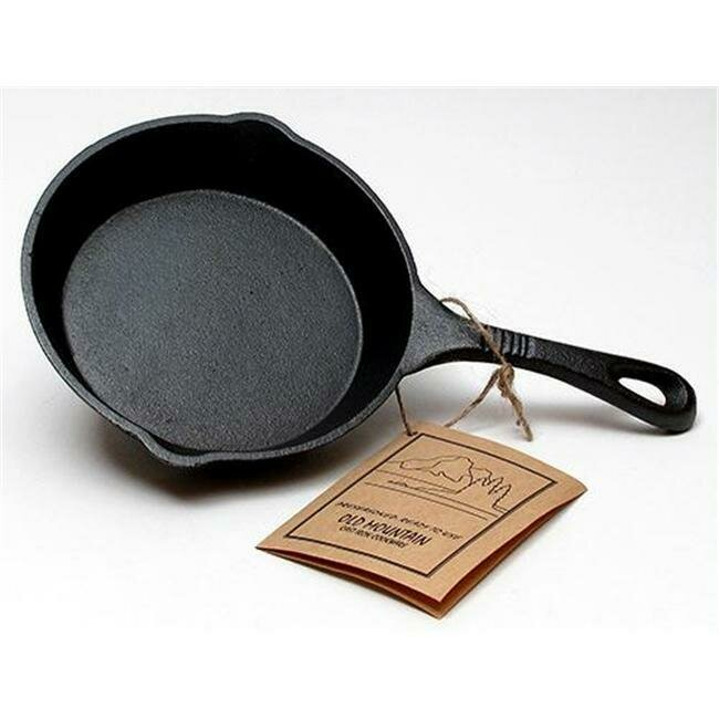 6.5 Inch Cast Iron Skillet - Old Mountain
