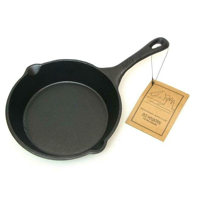 8 Inch Cast Iron Skillet -  Old Mountain
