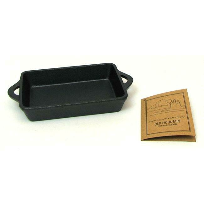 Cast Iron Rectangle Single Serve Dish -  Old Mountain