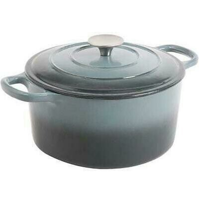 5 quart Dutch Oven, Grey - Gibson