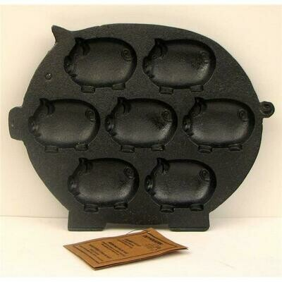 Cast Iron Pig Baking Pan - Old Mountain