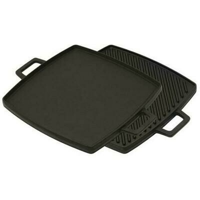 10.5 inch Cast Iron Reversible Griddle - Bayou