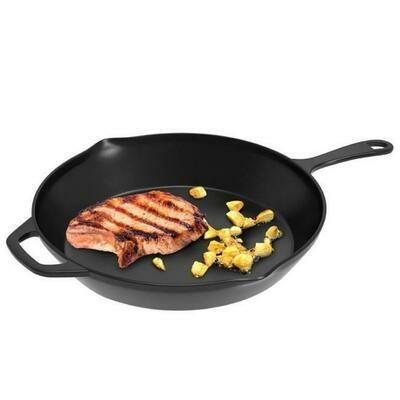 12 Inch Pre-Seasoned Cast Iron Skillet - Classic Cuisine
