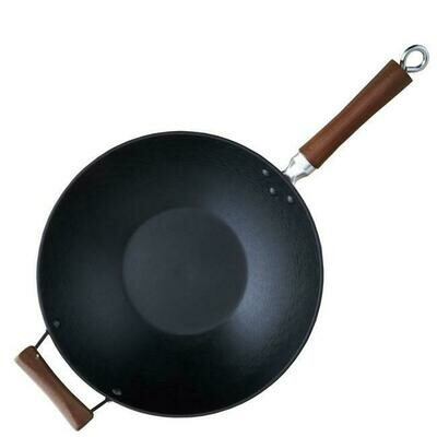 14 inch Cast Iron Wok Handles - Made-to-go