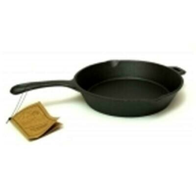 10.5 inch Cast iron  Skillet with assist handle - Old Mountain