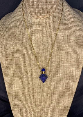 Lapis Lazuli Crystal Vial