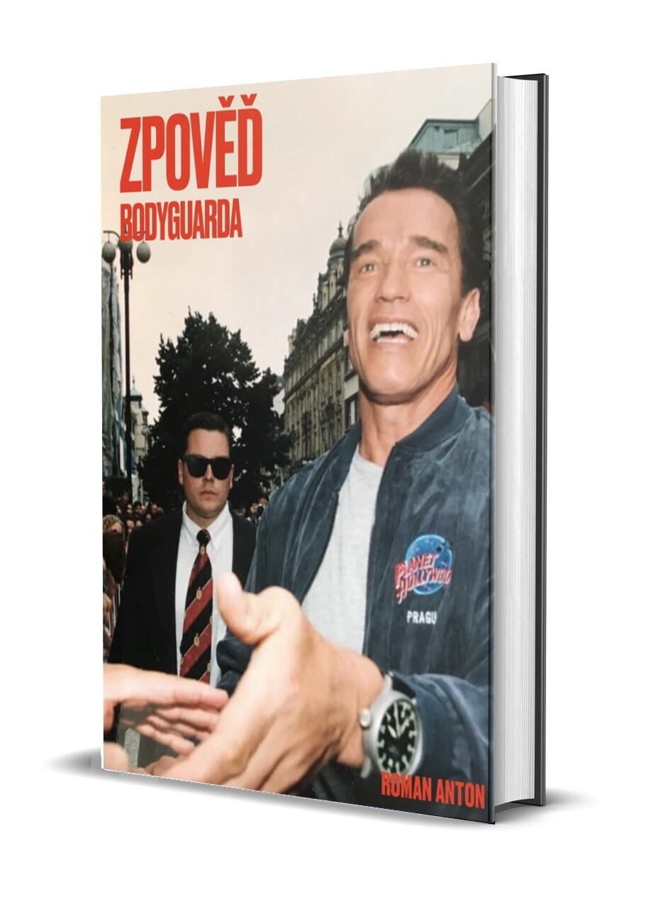 Kniha Zpověď Bodyguarda