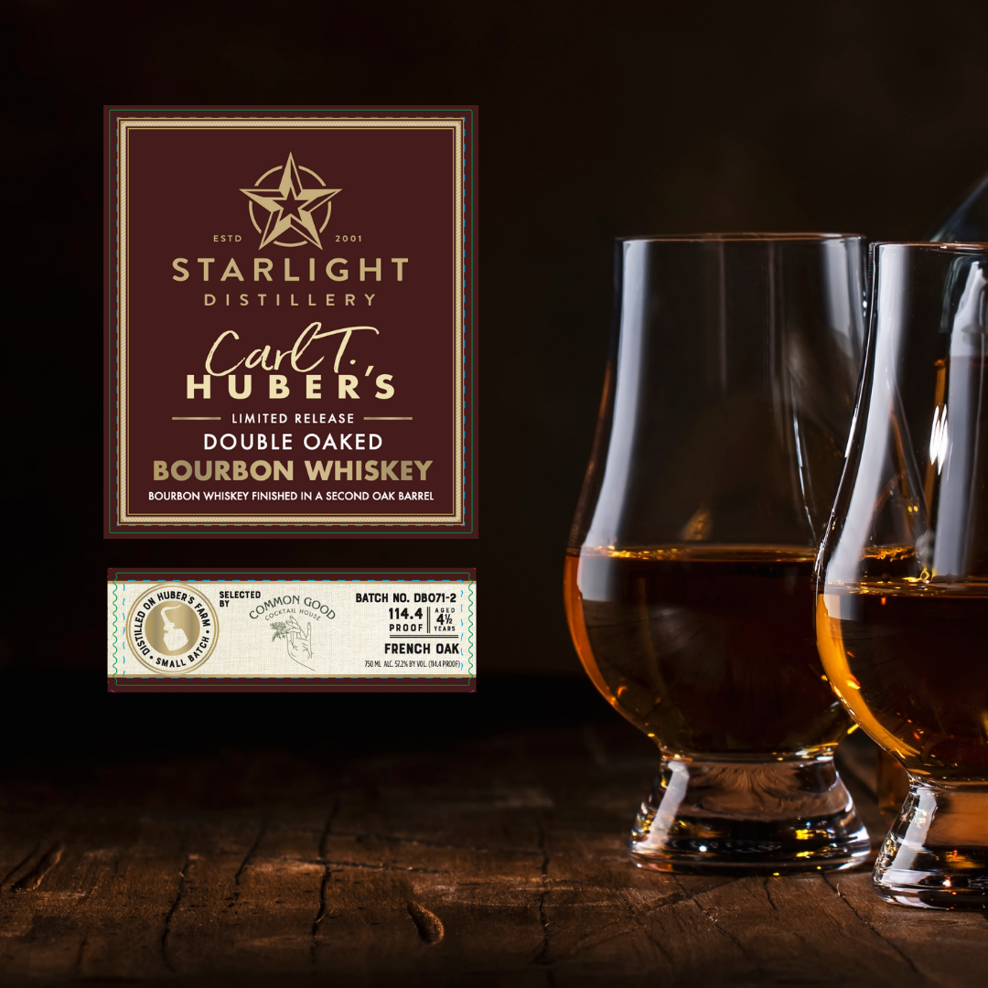Starlight Double Oaked Bourbon (Common Good Barrel Select)