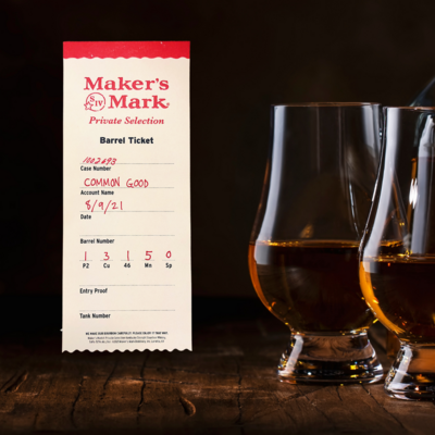 """Maker's Mark """"Lap It Up"""" Private Select"""