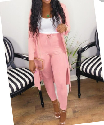 2 piece long sleeve pants set