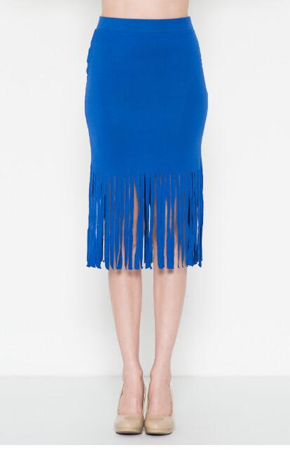 Bottom frindge skirt