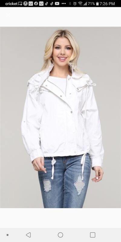 Off white Anorak Jacket