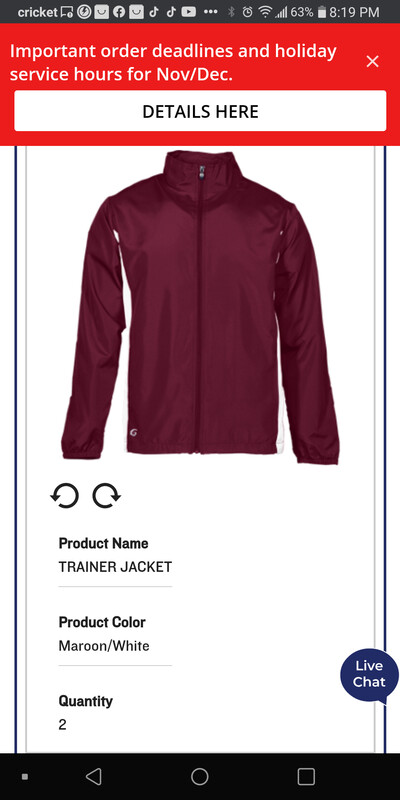 Champions GTE trainer jacket