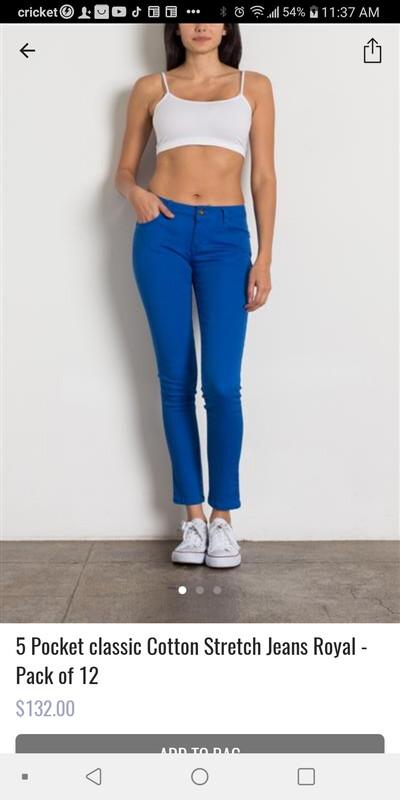 Comfort fit pants