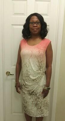 Side buckle dress