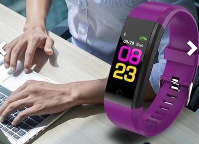 Bluetooth smartband watch activity tracker