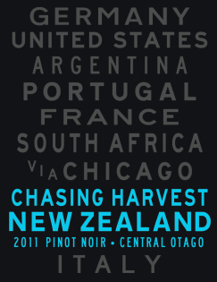 Chasing Harvest Central Otago Pinot Noir 2011